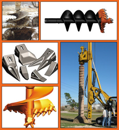 Pengo Augers, bits and teeth