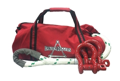 Rope bag for utility truck