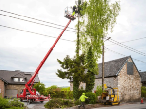 Safety in a bucket truck