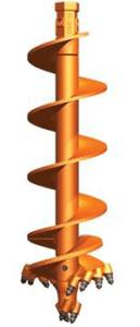 Pengo Spiral Rock Head Auger